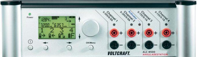 Měřič kapacity ALC 8500 voltcraft
